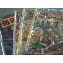 DC COMICS G.I. COMBAT NO'S. 171, 176, 179 &180