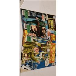 DC COMICS  3 UNKNOWN SOLDIER