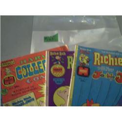 3 RICHIE RICH COMICS
