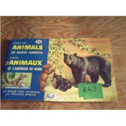 BROOKE BOND ALBUM  ANIMALS OF NORTH AMERICA  NO. 2