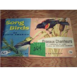 BROOKE BOND ALBUM  SONG BIRDS OF NORTH AMERICA  NO. 1