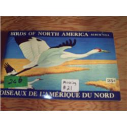 BROOKE BOND ALBUM  BIRDS OF NORTH AMERICA  NO. 4
