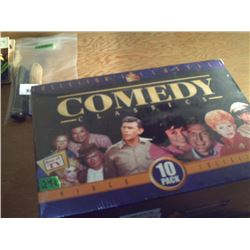 10 PACK VIDEO CELLECTION OF COMEDY CLASSICS NEW IN BOX