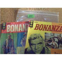GOLD KEY COMICS   2 BONANZA 12 CENT COMICS