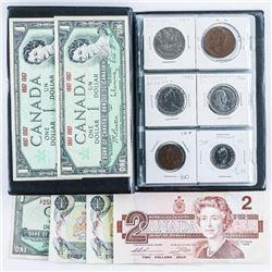 Coin Stock Book - 18 Coins Plus Notes