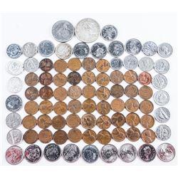 Estate - Bag Loose Coins - Canada - Silver  etc