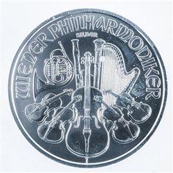 .999 Fine Silver 1.50 Euro Coin