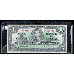 Bank of Canada 1937 1.00 R/N.