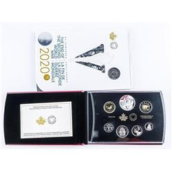 RCM 2020 Special Edition Silver, Dollar Proof  Set, Plus 2020 'Victory' RCM Special Issue  Folio. SO