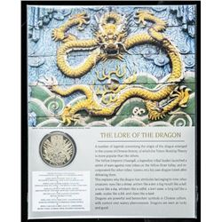 Dragon Medallion 24kt Gold Plated LE/1000  with C.O.A.