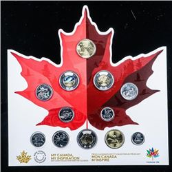 MY CANADA - MY INSPIRATION CANADA 150 - UNC  Coin Set with Classics - SOLD OUT