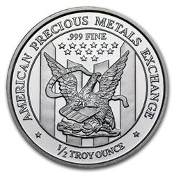 American Previous Metals .999 Fine Silver Round. Made in USA.
