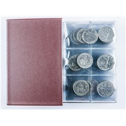 Group of (60) Canada 1 Dollar Coins Stock  Book