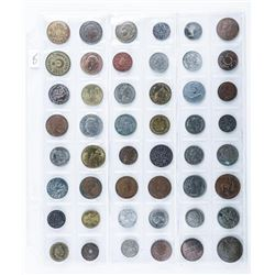 Group of (48) Foreign Coins
