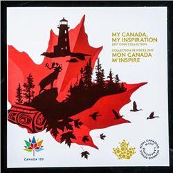 Canada 150 - 2017 Coin Collection. Gift Folio  UNC