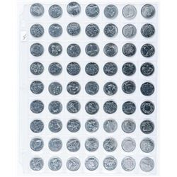 Group of (63) Canada - 25 Cent Coins  Commemorative etc