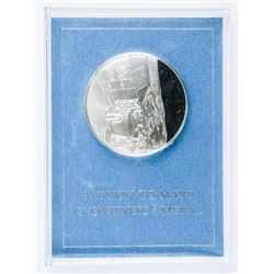 Mission To Mars - Medal 925 Sterling Silver