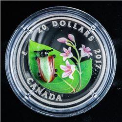 RCM Dogbone Beetle - .999 Fine Silver $20.00  Coin. LE/C.O.A.