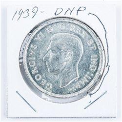 1939 Canada Silver Dollar DHP