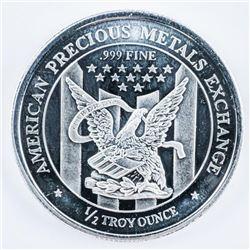 American Precious Metals .999 Fine Silver  Collector Round