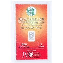 Wealth Bullion Bar - 999 Fine Silver Bar -  Serialized