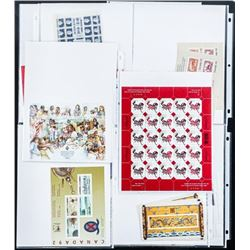 Estate - Collection 'Canada' Stamps - Sheets,  Blocks etc