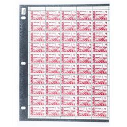 Canada Post - Sheet Stamps Original Sheet 50  x 1.00 #465b