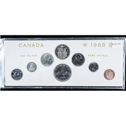 1968 PL Silver Coin Set with Silver