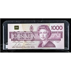 Bank of Canada 1988 1000.00 Note (EKA)