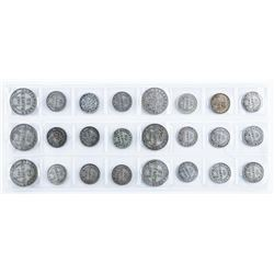Group of (24) Silver Coins of NFLD