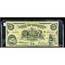 Bank of Toronto 1936 5.00 (F)