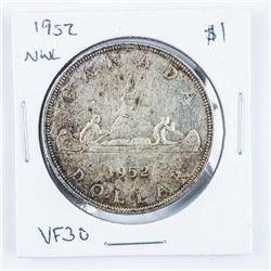 1952 Canada Silver Dollar - NWL.