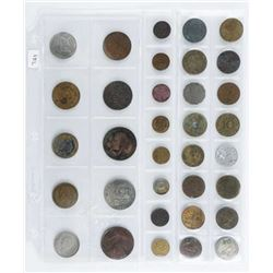 Group (34) World Coins