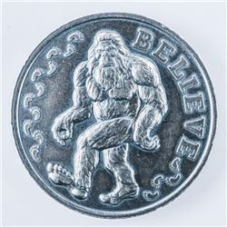 BIG FOOT .999 Fine Silver Magnet