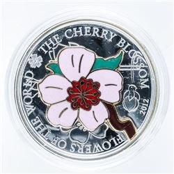Cherry Blossom .999 Fine Silver 5.00 -  Mintage 2500 World