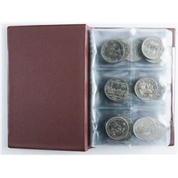 Coin Stock Book 60 - Canada Nickel Dollars