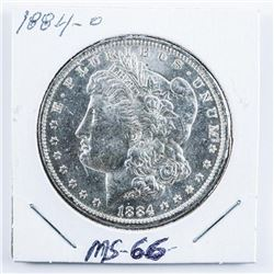 1884-O USA Morgan Dollar MS66.
