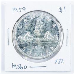1952 Canada Silver Dollar NWL VF30