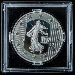 2002-2012 10 Euro Coin - .999 Fine Silver