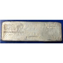 Canadian .999 Fine Silver 50oz Hand Poured  Bar - Collector Bullion. (Serial May Vary).