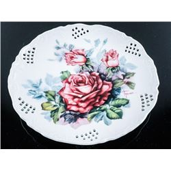 Lyn Moser - Collector Plate, Classic Roses  'Bradford'