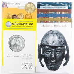 Lot of Catalogues, Auction Reports etc