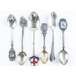 Group of (6) Estate, Sterling Silver Spoons
