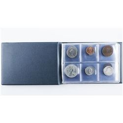 World Coin Book 24 Coins with Silver
