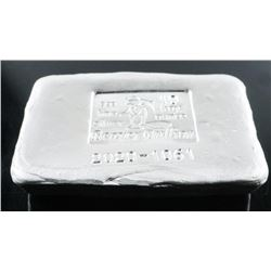 Collector Bullion 10 Troy Ounce, Hand Poured  Brick .999 Fine Silver Serialized
