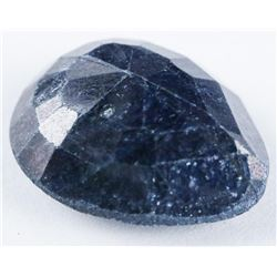 Loose Gemstone 8.93ct Pear Cut Blue Sapphire  TRRV: $2680.00