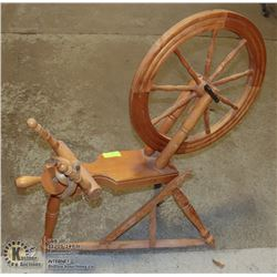 SPINDLE SPINNING WHEEL CANADIAN MADE