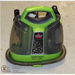 BISSELL LITTLE GREEN PRO HEAT PET STEAM CLEANER