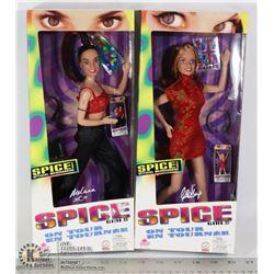 VINTAGE 2 F-SEALED SPICE GIRLS
