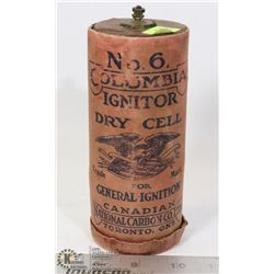 #6 COLUMBIA IGNITOR DRY CELL BATTERY